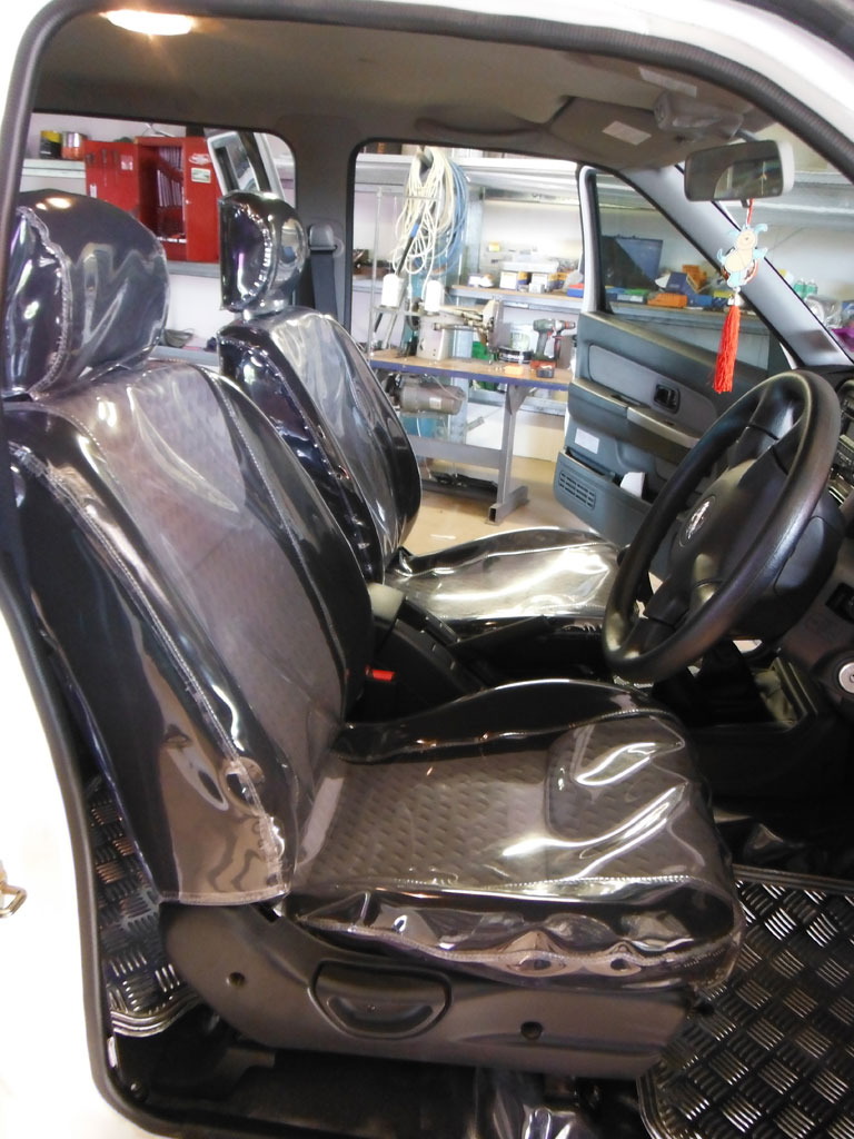 Clear Vinyl Seat Cover
