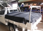 Custom shadecloth load covers