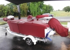Custom fit Tinny, outboard, Mincota and canopy covers
