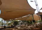 King Ash Bay Outdoor Dinning Shade Structure