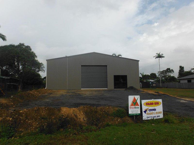 New Shed - 8 Palmerston Drive Goondi Bend